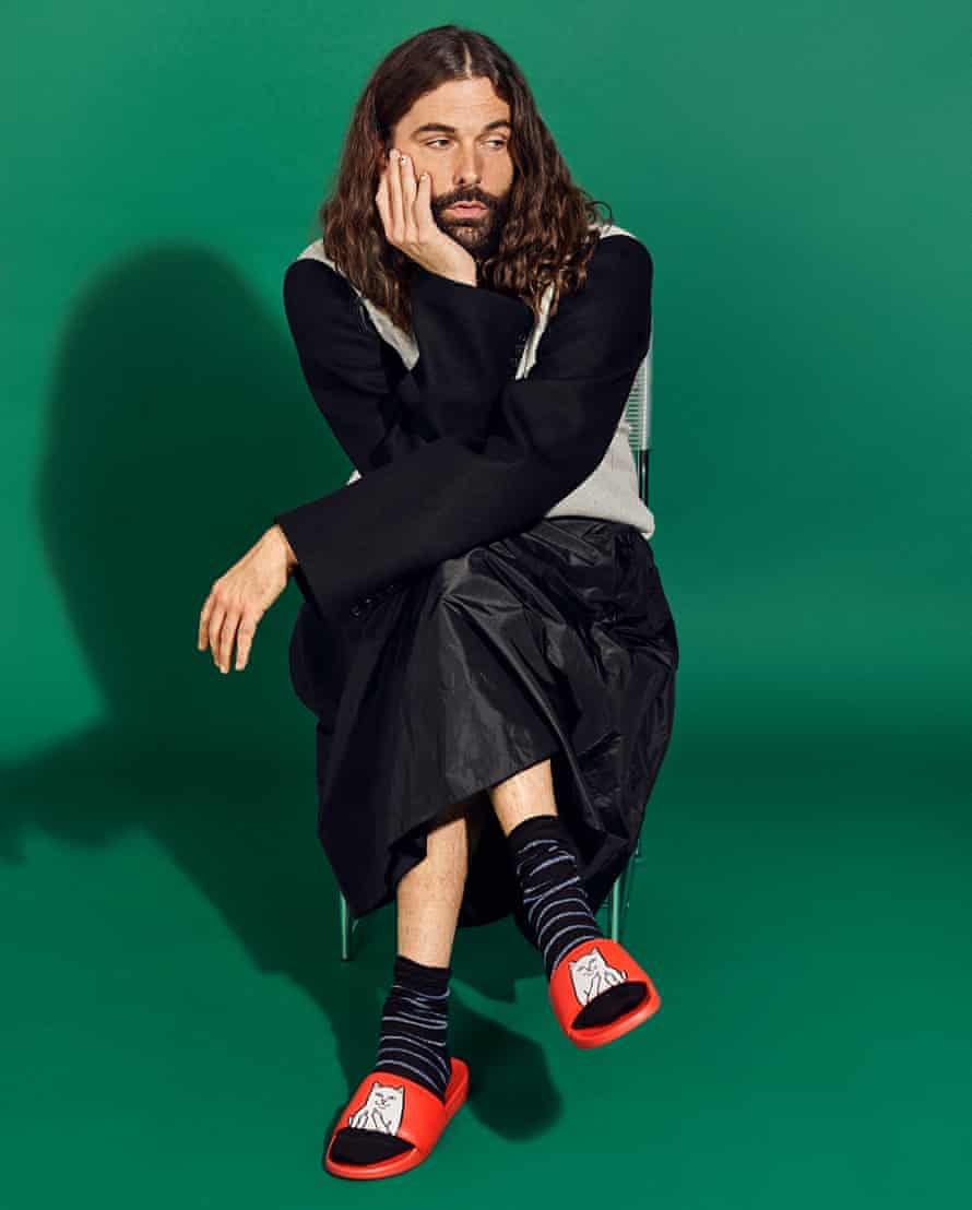 'I want to humanise a lot of the difficult things  I talk about': Jonathan Van Ness.