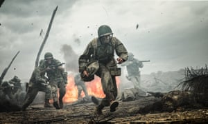 Shock and gore … Hacksaw Ridge is offered up as the ultimate redemption for Gibson himself.