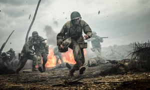 "This image released by Summit shows Andrew Garfield in a scene from ""Hacksaw Ridge."" The film was nominated for an Oscar for best picture on Tuesday, Jan. 24, 2017. The 89th Academy Awards will take place on Feb. 26. (Mark Rogers/Summit via AP)"