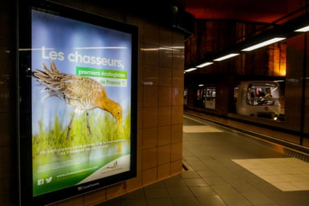 French hunters claim to be defenders of ecology