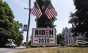 Joe Biden plans to accept the presidential nomination in person at an almost entirely virtual convention in Milwaukee.