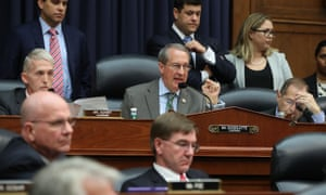 The judiciary committee chairman, Robert Goodlatte, questions FBI agent Peter Strzok, during a joint committee hearing of the House judiciary and oversight and government reform committees on Capitol Hill on Thursday.