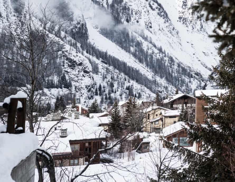 The village of La Thuile