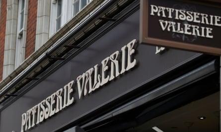 Patisserie Valerie sign