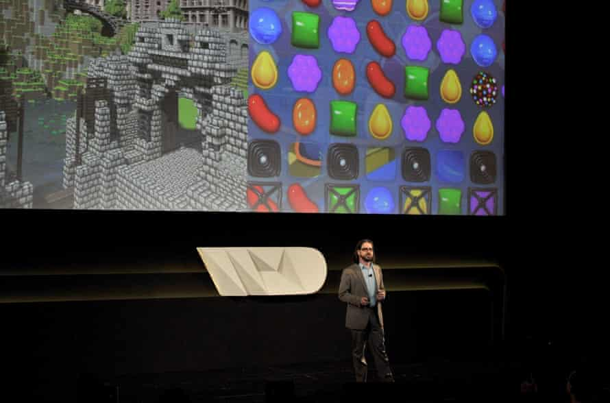 Bogost speaking at the Wired by Design retreat at Skywalker Sound, Marin County, California, 2014.