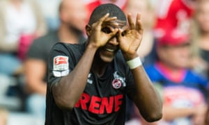 Anthony Modeste the goal that earned Köln a 1-1 Bundesliga draw at Bayern Munich