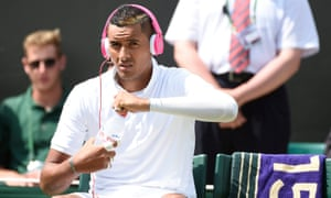 Kyrgios reached the fourth round at the All England Lawn Tennis Club, making plenty of headlines along the way.