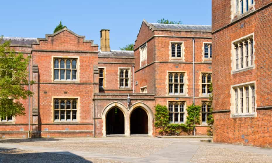 Winchester College: 'Schools such as Winchester, Eton, St Paul's and Westminster all started out as philanthropic institutions but have long since turned into mechanisms for a form of social apartheid.'