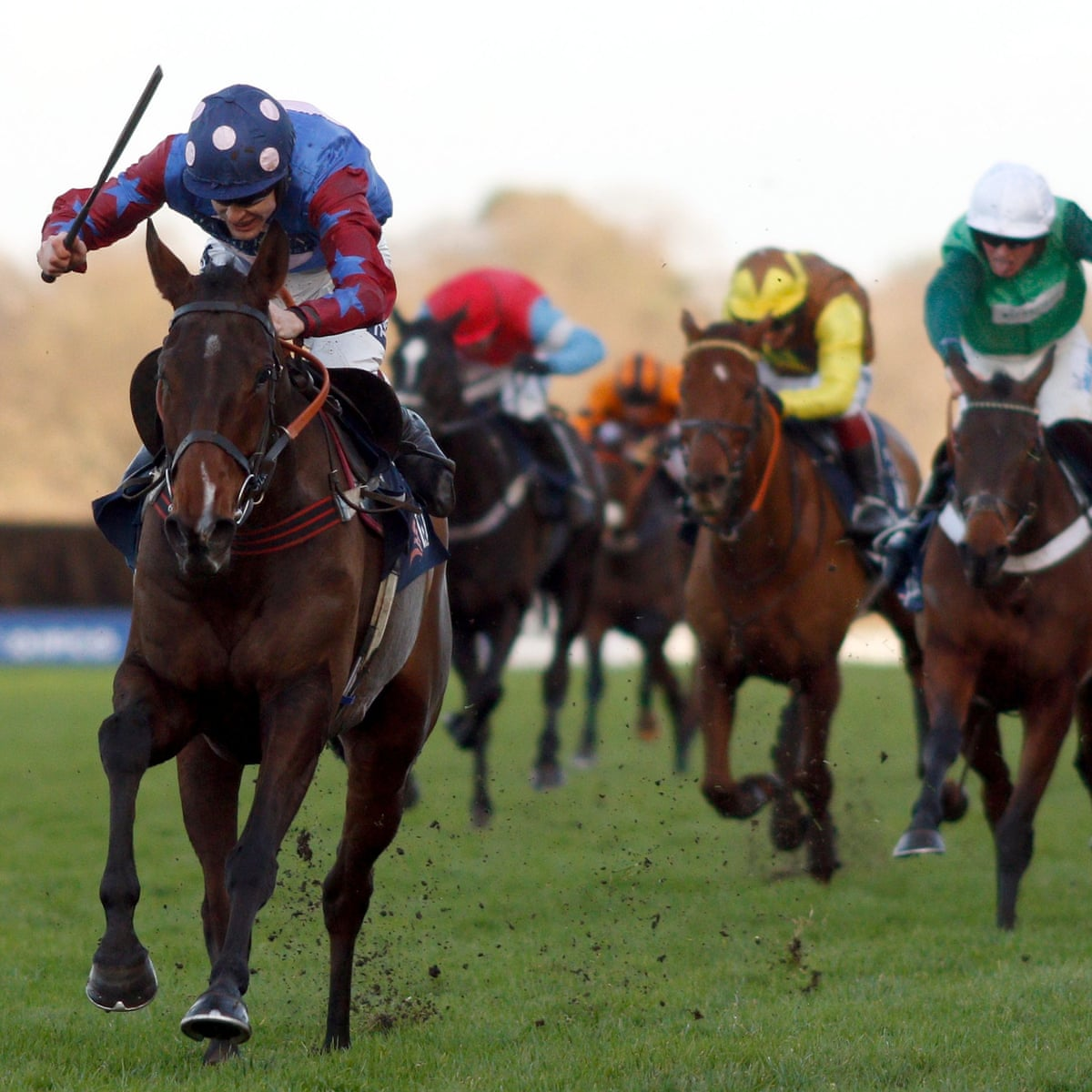 Paisley Park Delivers Aidan Coleman Early Christmas Present In Jlt Hurdle Ascot The Guardian