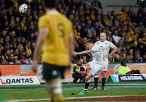 Another three for Owen Farrell.