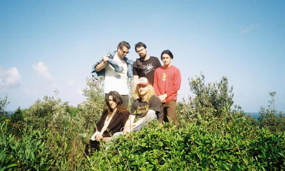 Australian band Shining Bird.