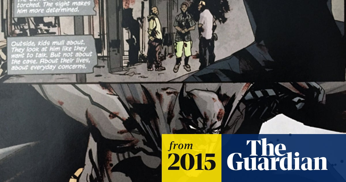 Batman confronts police racism in latest comic book | Books
