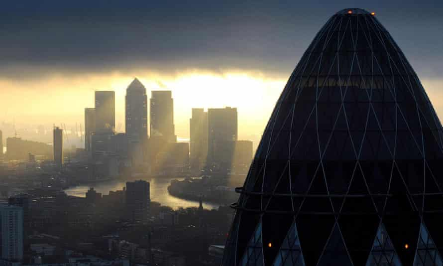The City of London landscape
