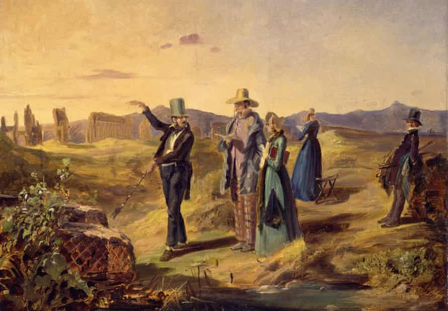 Engländer in der Campagna by Carl Spitzweg.