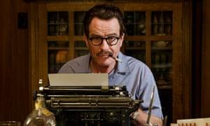 Cranston pickle ... as blacklisted screenwriter Dalton Trumbo.