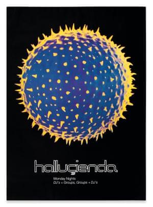 Hacienda Poster by Peter Saville 1989