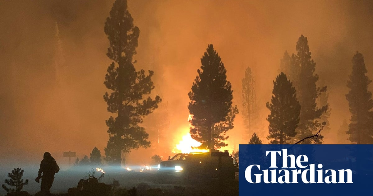 Thunderstorms and lightning threaten to spur more fires in US west