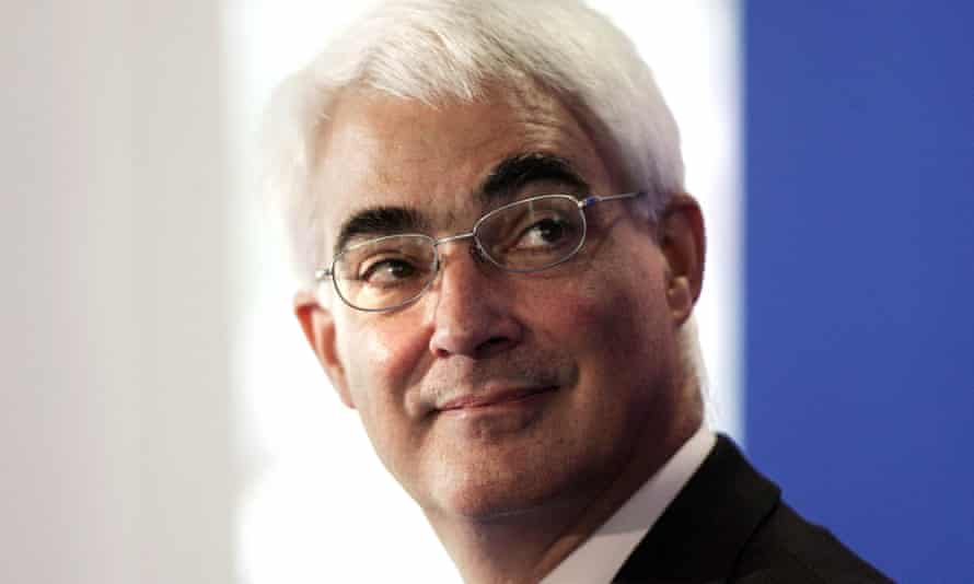 Alistair Darling in 2007.
