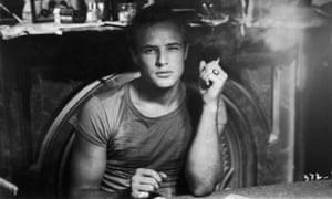 Marlon Brando as Stanley Kowalski in A Streetcar Named Desire.