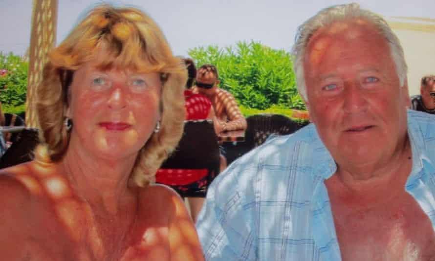 Eileen Swannack and her partner, John Welch.