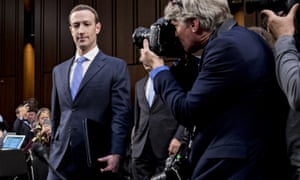 Facebook CEO Mark Zuckerberg testified before the Senate, but has so far declined to answer questions in the Commons.