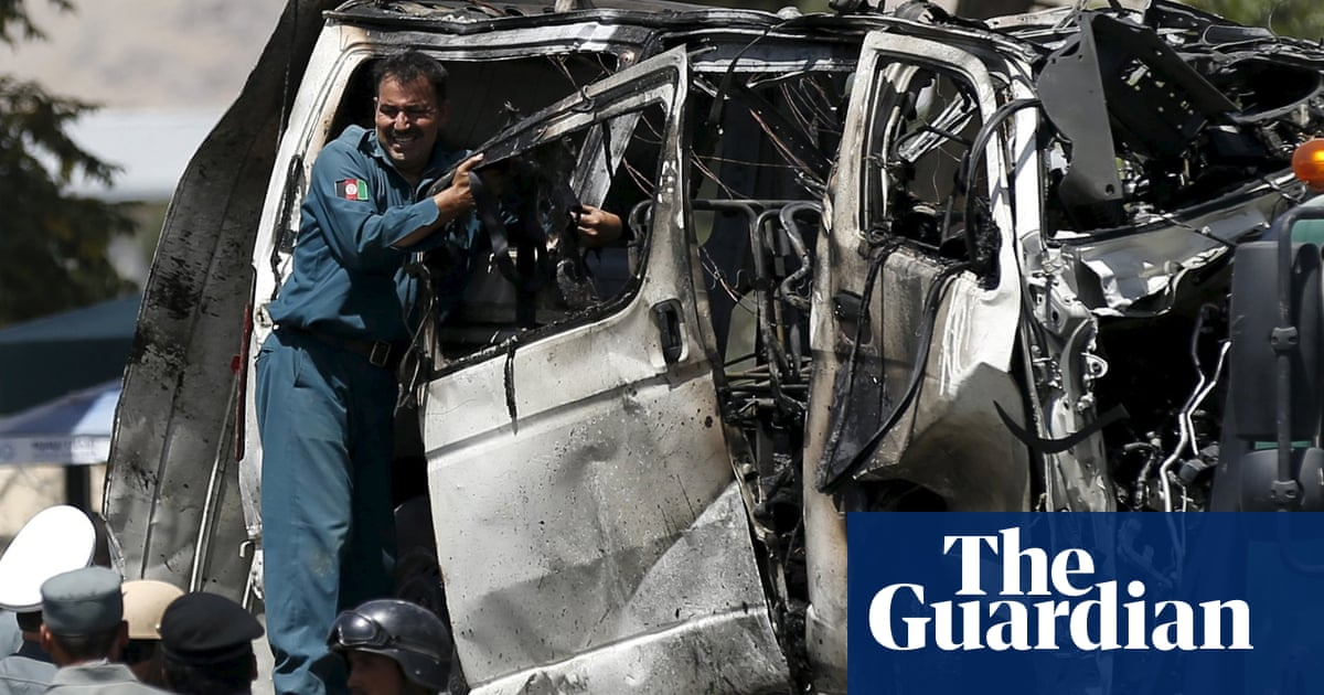 Isis affiliate is prime suspect for Kabul airport suicide bomb