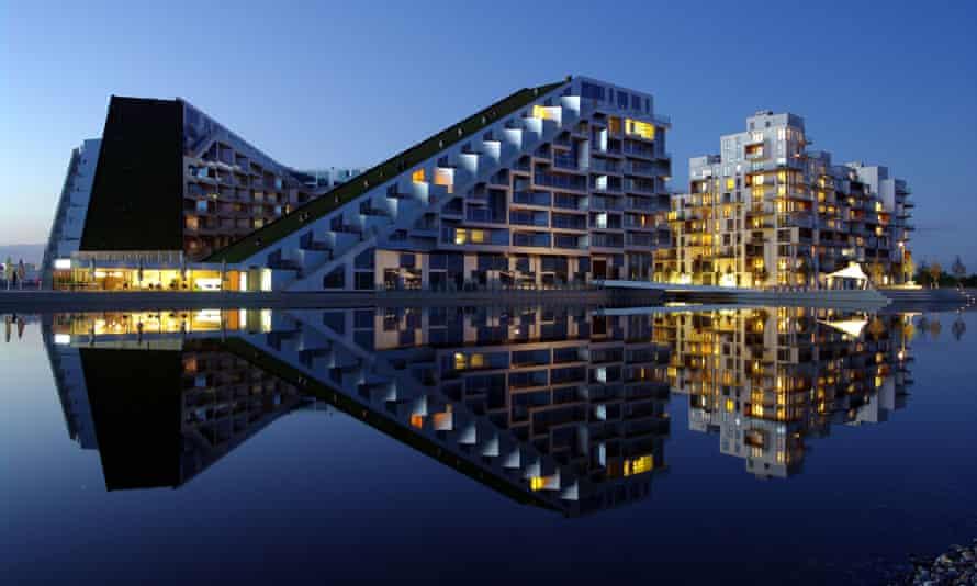 The 8 House building. Copenhagen, Denmark