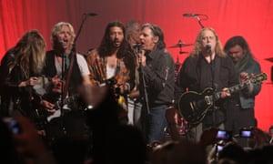 Bland performance … The Doors: Break on Thru.