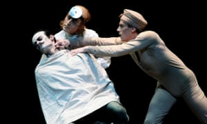 Soares, Jonathan Howells and Edward Watson in Different Drummer at the Royal Opera House in 2008