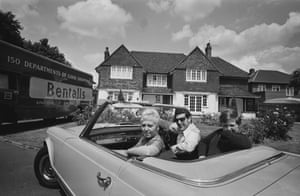 In 1967 the family moved from Shepperton in Middlesex to a large detached house in Sunbury, Surrey