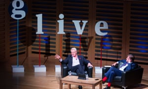 Guardian Live, A life in Politics with Paddy Ashdown - Kings Place, London, 10/11/2015.