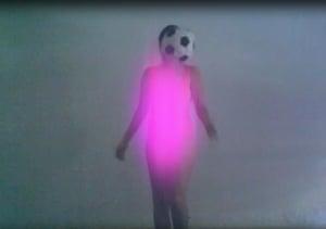 Petra Cortright, still from 'Footvball: Faerie', 2009