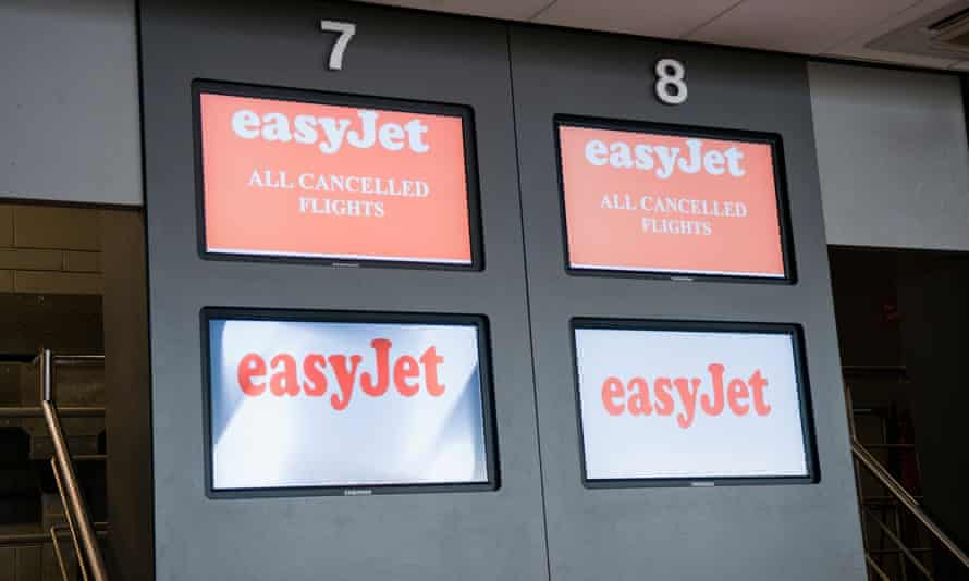 If you cancel a flight and accept vouchers rather the airline is not liable for a refund.