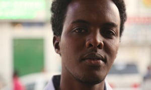 Khadar, 24, has been challenging men to speak out against FGM in Hargeisa, Somaliland