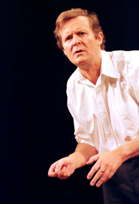 David Hare in Via Dolorosa.