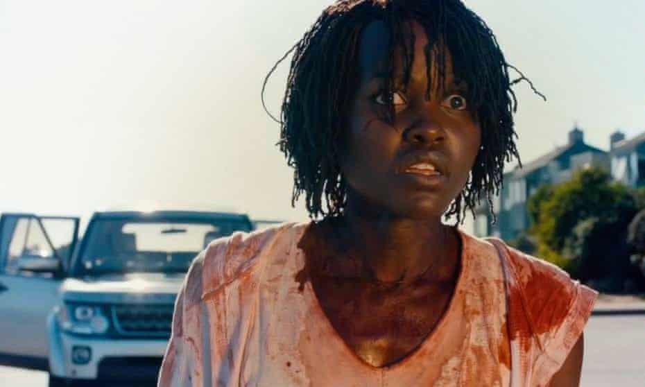 Gobstopping satire ... Lupita Nyong'o in the film US.