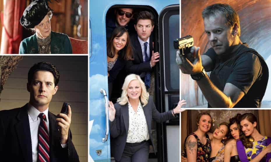 Downton Abbey, Twin Peaks, Parks and Recreation, 24 and Girls.