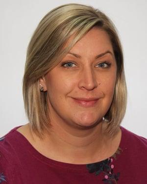 Emily Proffitt, headteacher, Tittensor first school in Stoke-on-Trent