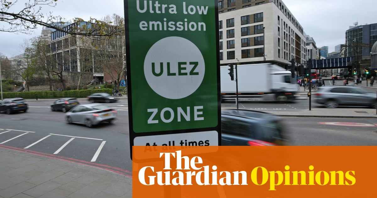 The Guardian view on low-emission zones: the UK must clean up its act
