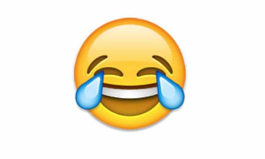 emoji tears joy