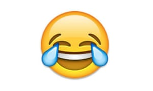 The 'tears of joy' emoji is the worst of all – it's used to gloat