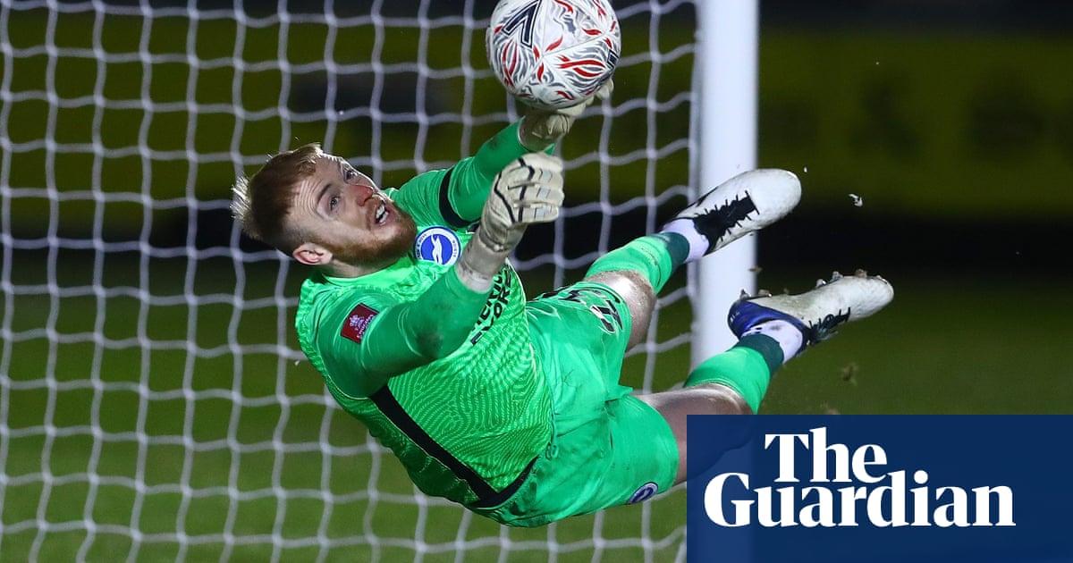 Jason Steeles acrobatics take Brighton past Newport after penalty shootout