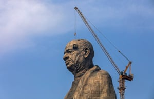 The Statue of Unity will not be the world's tallest for long