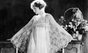 'Her legacy will survive'… Lillian Gish in a publicity picture from 1920.