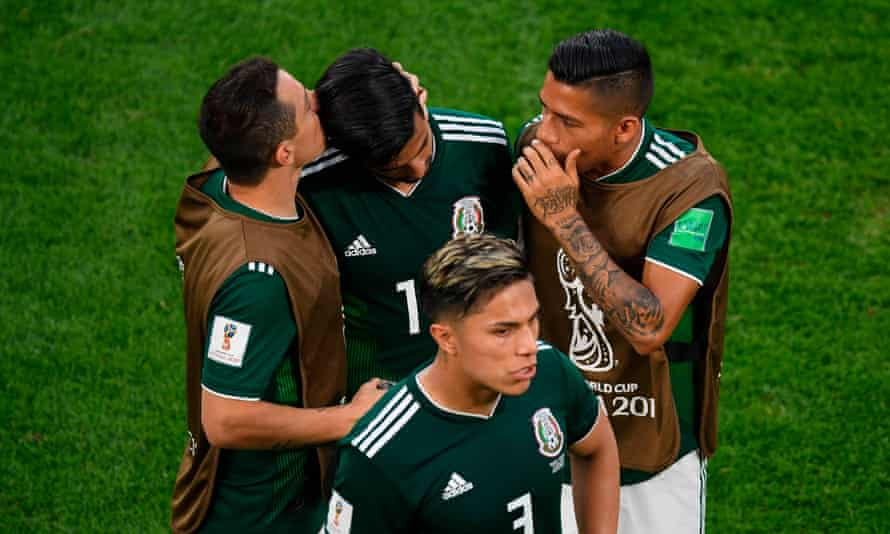 Mexico await their fate, and the result of Germany's match against South Korea, after defeat by Sweden