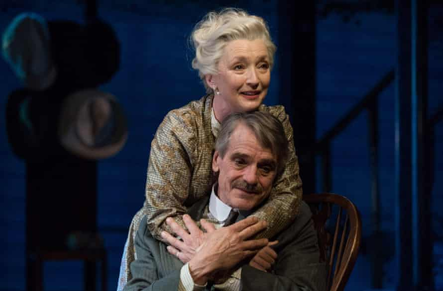 Lesley Manville and Jeremy Irons in Long Day's Journey Into Night at Bristol Old Vic.