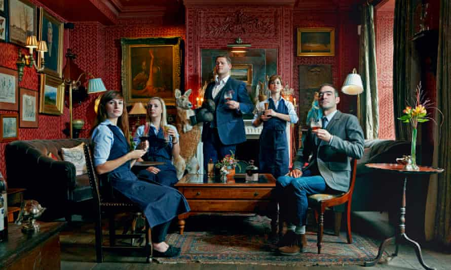 London: Tony Conigliaro, far right, and the team at the Zetter Townhouse.