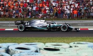 Lewis Hamilton wins the race.
