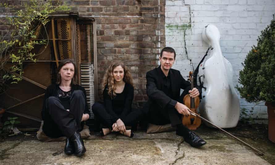 The Fidelio Trio (l-r): Mary Dullea (piano), Adi Tal (cello) and Darragh Morgan (violin).