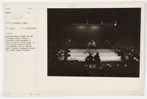 The first boxing tournament held at the Royal Albert Hall was the British Empire and American Services Boxing Tournament in December 1918